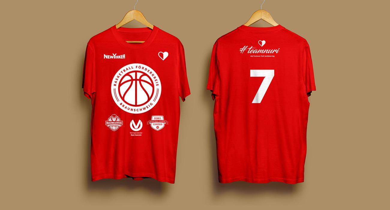 Shirts Basketball Förderkreis Braunschweig
