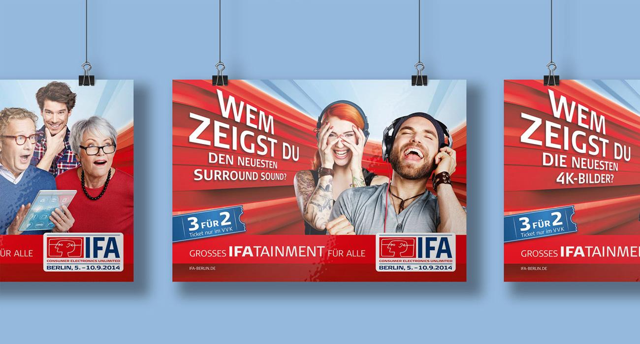 Internationale Funkaustellung Werbematerial