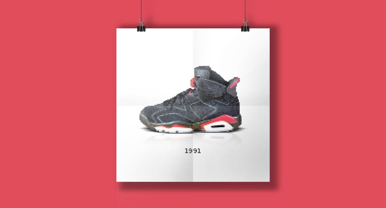 Air Jordan 8 Bit Full